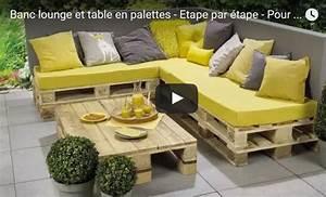 Salon De Jardin En Palette Tuto : tutoriel construire son salon de jardin en bois de palettes ~ Dode.kayakingforconservation.com Idées de Décoration