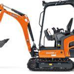 kubota excavators price list