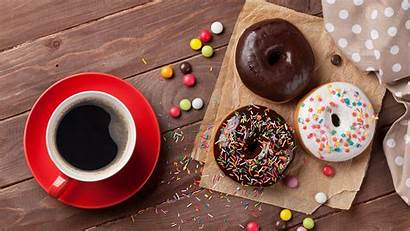 Donuts Coffee Wallpapers Donut Chocolate Sugar Malang