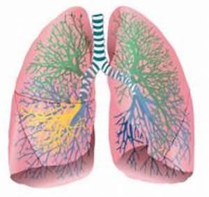 Druk op de longen en hoesten