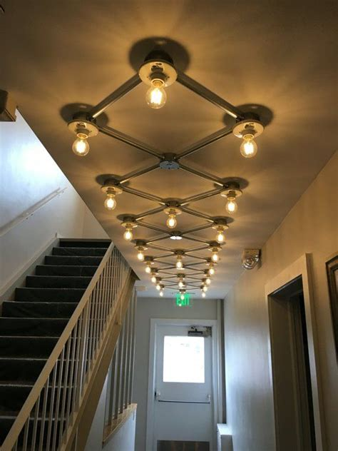 flush mount grid light ceiling design modern ceiling