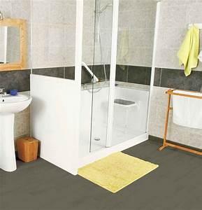 Installation D Une Cabine De Douche : douche senior cabine de douche pour personne mobilit ~ Premium-room.com Idées de Décoration