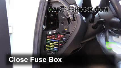 interior fuse box location   audi   audi