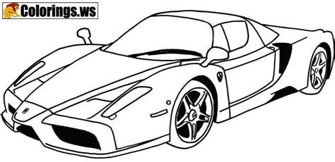 sports car coloring page car coloring pages