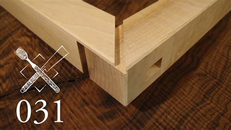 joint venture ep  haunched  tenon  mitered