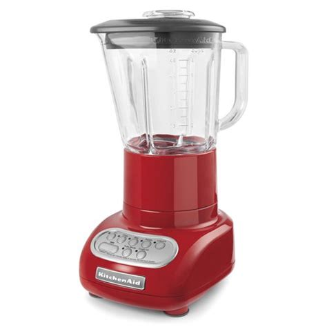 Kitchenaid 5speed Blender With Glass Blender Jar, Ksb565