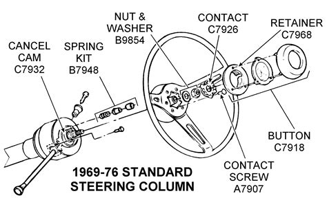 Charming Steering Column Parts Breakdown Collection