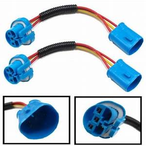 9004  U0026 9007 Hb5 Extension Wiring Harness Sockets Wire For