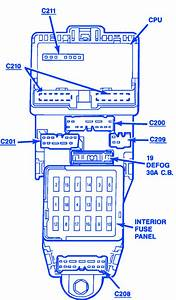 Ford Probe 1989 Fuse Box  Block Circuit Breaker Diagram