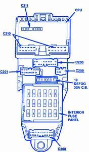 1991 Ford Probe Fuse Box Diagram