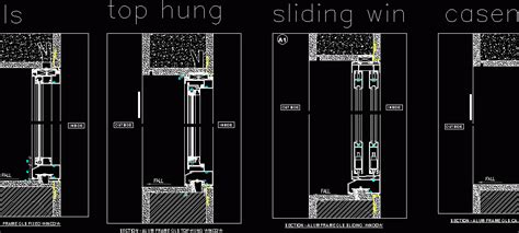 window details dwg detail  autocad designs cad