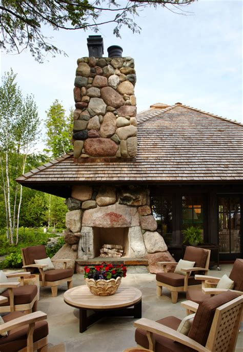 relaxing outdoor fireplace designs   garden