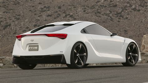 new two door toyota sports car toyota ft hs hybrid vehicle sports car concept