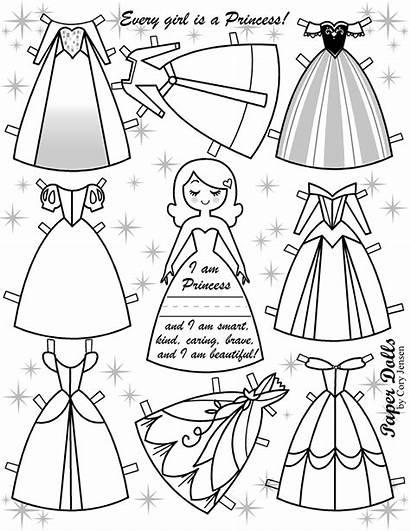 Dolls Paper Disney Princesses Princess Frozen Dresses