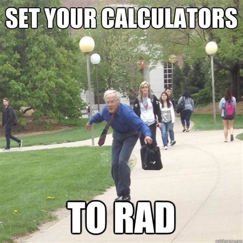 Rad Meme - professor owl calculator