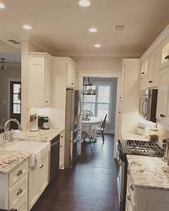 Image, Result, For, Galley, Kitchen, With, Peninsula