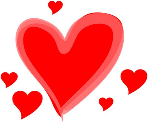 Cartoon Love Hearts