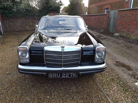 Ce 1972 mercedes 250 c vous a été adjugé pour la somme de usd (plus les frais applicables). 1972 Mercedes W114 250 CE SOLD | Car And Classic