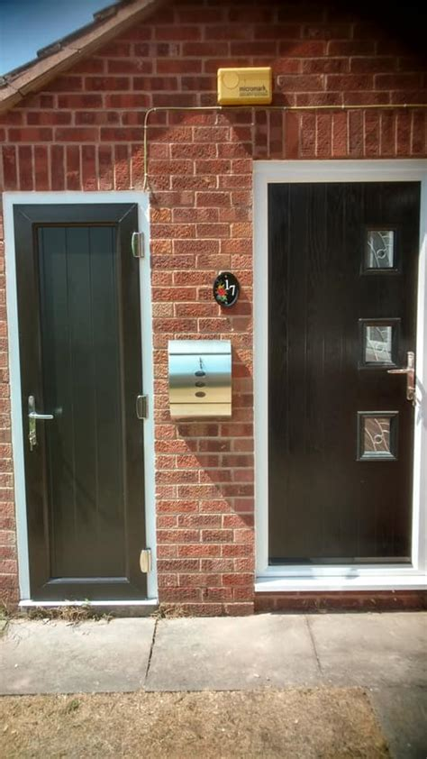 Front Door & Outhouse Door Fitted in Nottingham   Bespoke ...