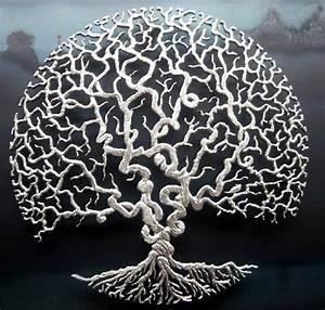 Silver Tree of Life Wall Art Home Decor Pinterest Walls