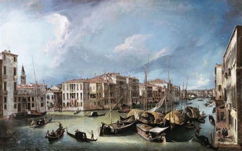 el gran canal de venecia con el puente de rialto