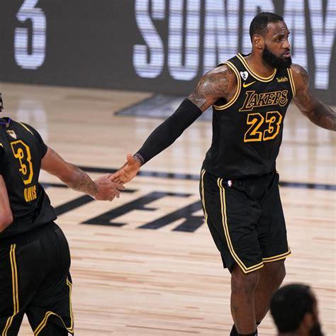 NBA Finals 2020: Lakers vs. Heat TV Schedule, Odds and ...