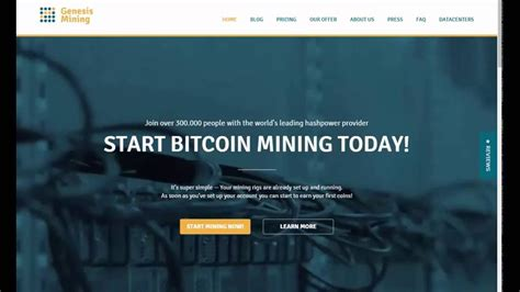 cloud mining websites 2017 best bitcoin earning cloud mining website genesis