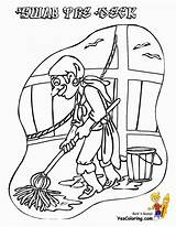 Pirate Coloring Pages Preschool Ship Colouring Pirates Scurvy Yescoloring Boys Costume sketch template