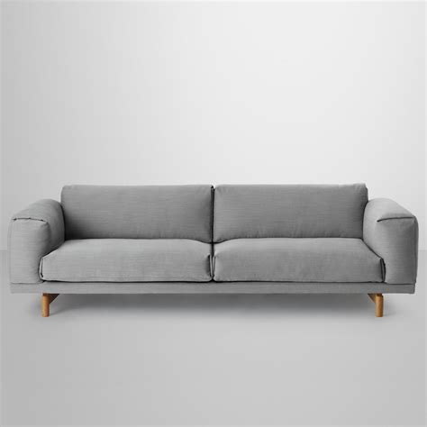 sofa 3 sitzer landhausstil rest sofa 3 sitzer muuto connox shop