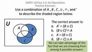 Sets  Simple Venn Diagram Problems