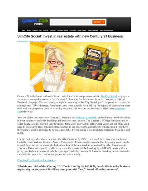century 21 si鑒e social com invest in estate with century 21 business
