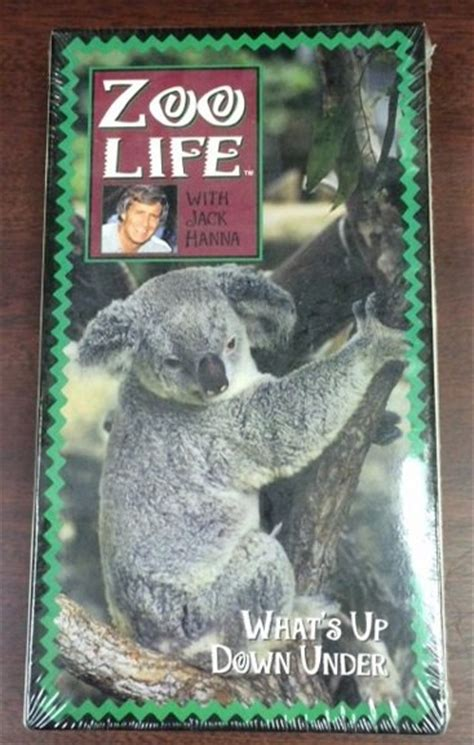 Zoo Life With Jack Hanna: What's Up Down Under (1992) VHS ...