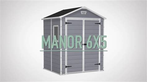 Keter Manor Shed 6x5 by Keter Manor Shed 6x5 On Vimeo