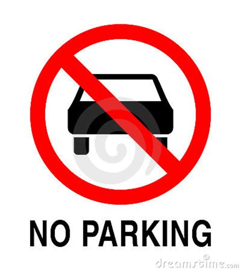 parking sign stock  image