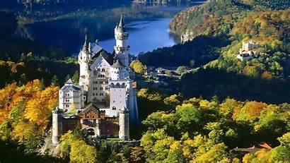 Neuschwanstein Castle Wallpapers Germany Bavaria Desktop Cave