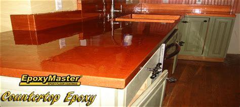 Countertop Epoxy Image 4  Copper Golden Orange