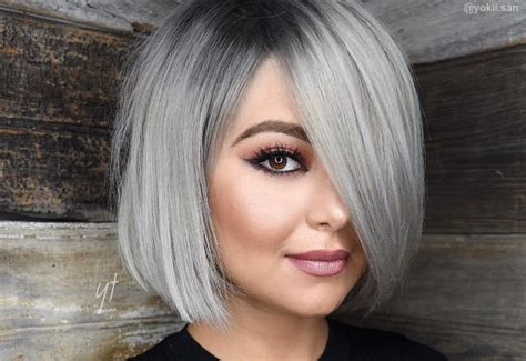 Hairstyles And Colours For Black Hair by 38 Silver Hair Color Ideas In 2018