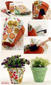 The Pots Adorn Craft Ideas With Chalkboard Paint And