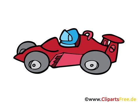 formel  rennwagen cartoon bild clipart zeichnung