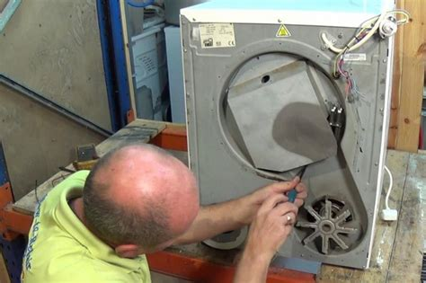 white knight tumble dryer not heating and tripping electric