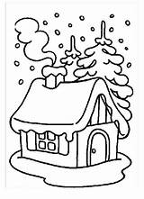 Coloring Snow Winter Monster Covered Pages Printable During Christmas Houses Sheets Season Clipart Kidsplaycolor Print Paper Colors Crafts Case Visit sketch template