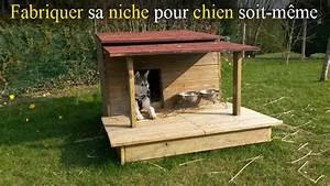 Niche Pour Chien Avec Terrasse : fabriquer soit m me une niche pour chien en bois avec ~ Dailycaller-alerts.com Idées de Décoration