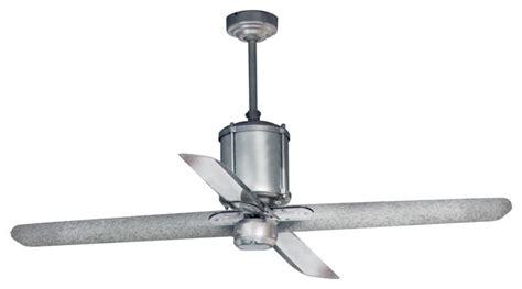 Machine Age Galvanized Ceiling Fan  Industrial Ceiling