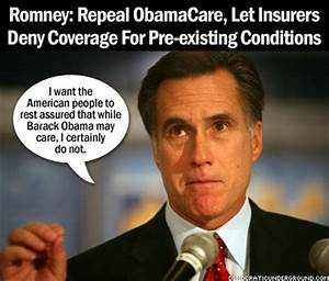 Pic Of The Moment: Romney: Repeal ObamaCare, Let Insurers ...
