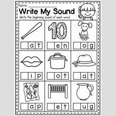 Mega Phonics Worksheet Bundle  Prek Kindergarten By My Teaching Pal
