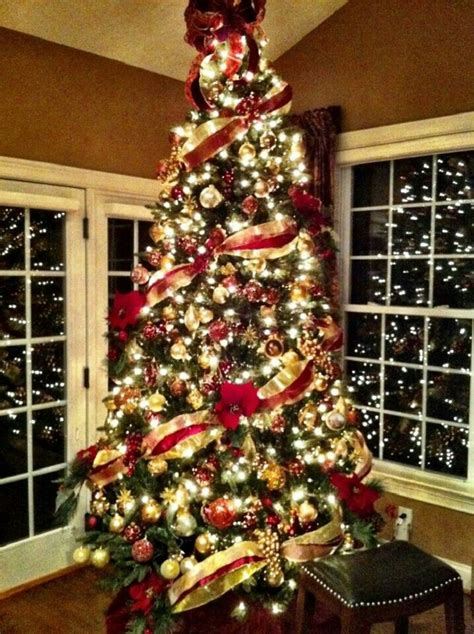 christmas tree decorated ideas the 50 best and most inspiring christmas tree decoration 4505