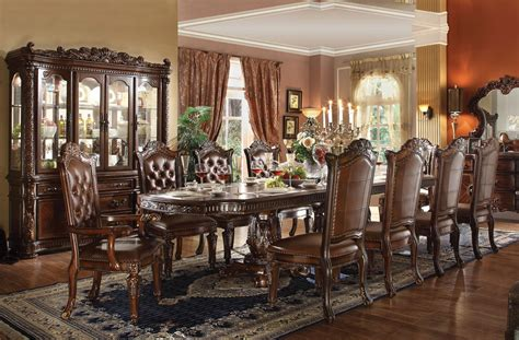 how to set a dining room vendome formal dining room table set