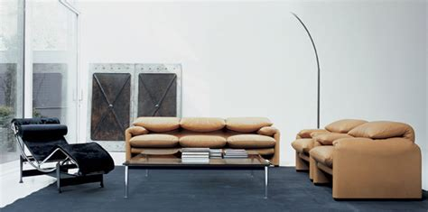 canape le corbusier カッシーナのソファ リビングに最高級の雰囲気を演出する