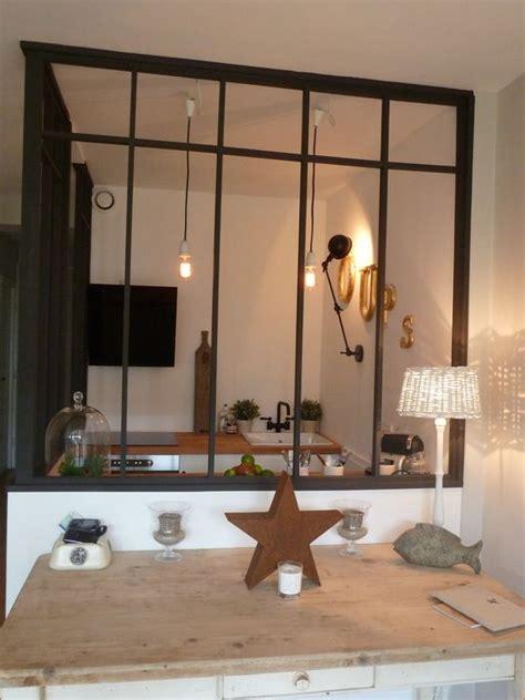 separation salon cuisine séparation idéale entre la cuisine et le salon deco
