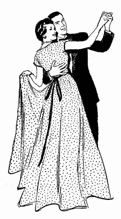 Dancing Couple Digital Stamp Stamps Clipart Couples